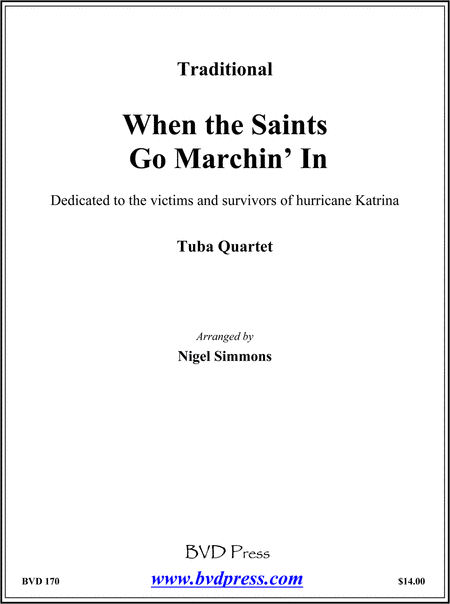 When the Saints Go Marchin' In