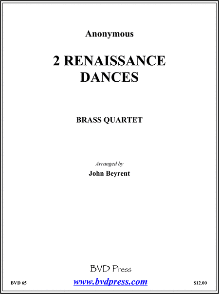 2 Renaissance Dances