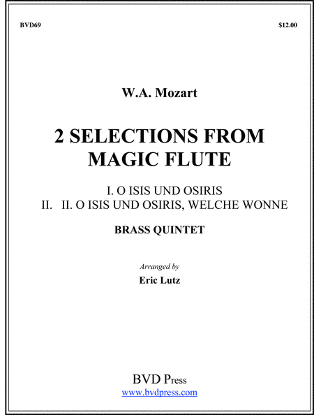 2 Selections from Magic Flute