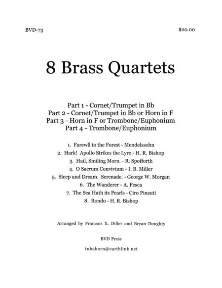 8 Brass Quartets