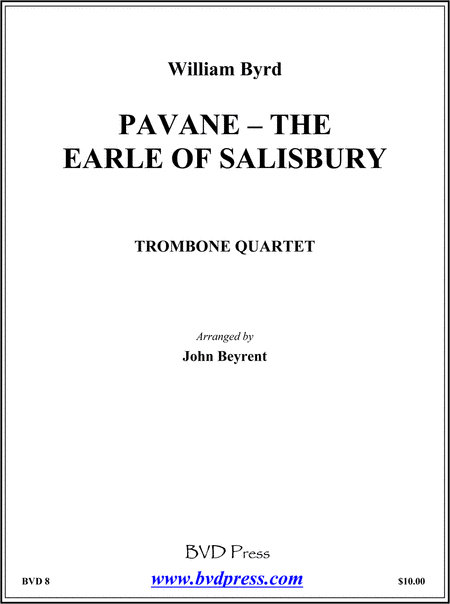 Pavane - Earle of Salisbury