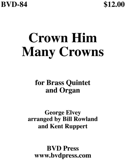 Crown Him Many Crowns