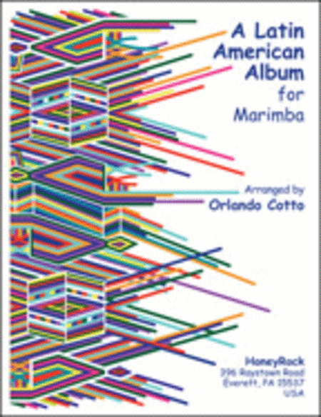 Latin American Album For Marimba