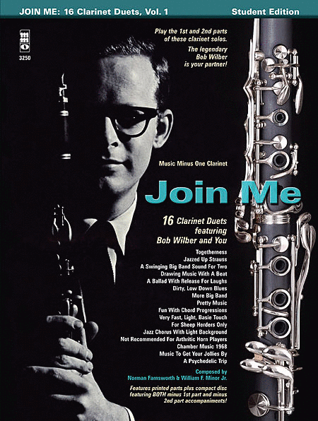 Join Me: 16 Clarinet Duets w/Rhythm Section (Bob Wilber)