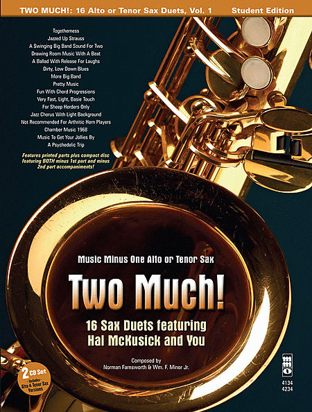 Two Much! 16 Duets for Saxophone