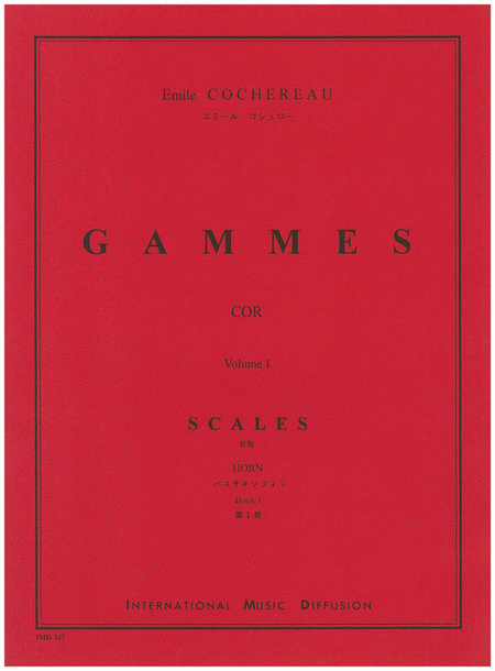 Gammes - Volume 1