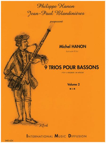 9 Trios Pour Bassons - Volume 2