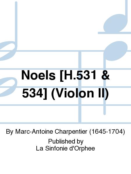 Noels [H.531 & 534] (Violon II)