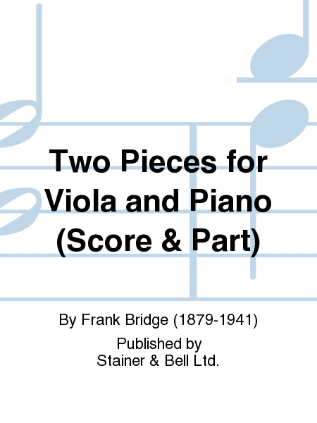 Two Pieces for Viola and Piano (Score & Part)