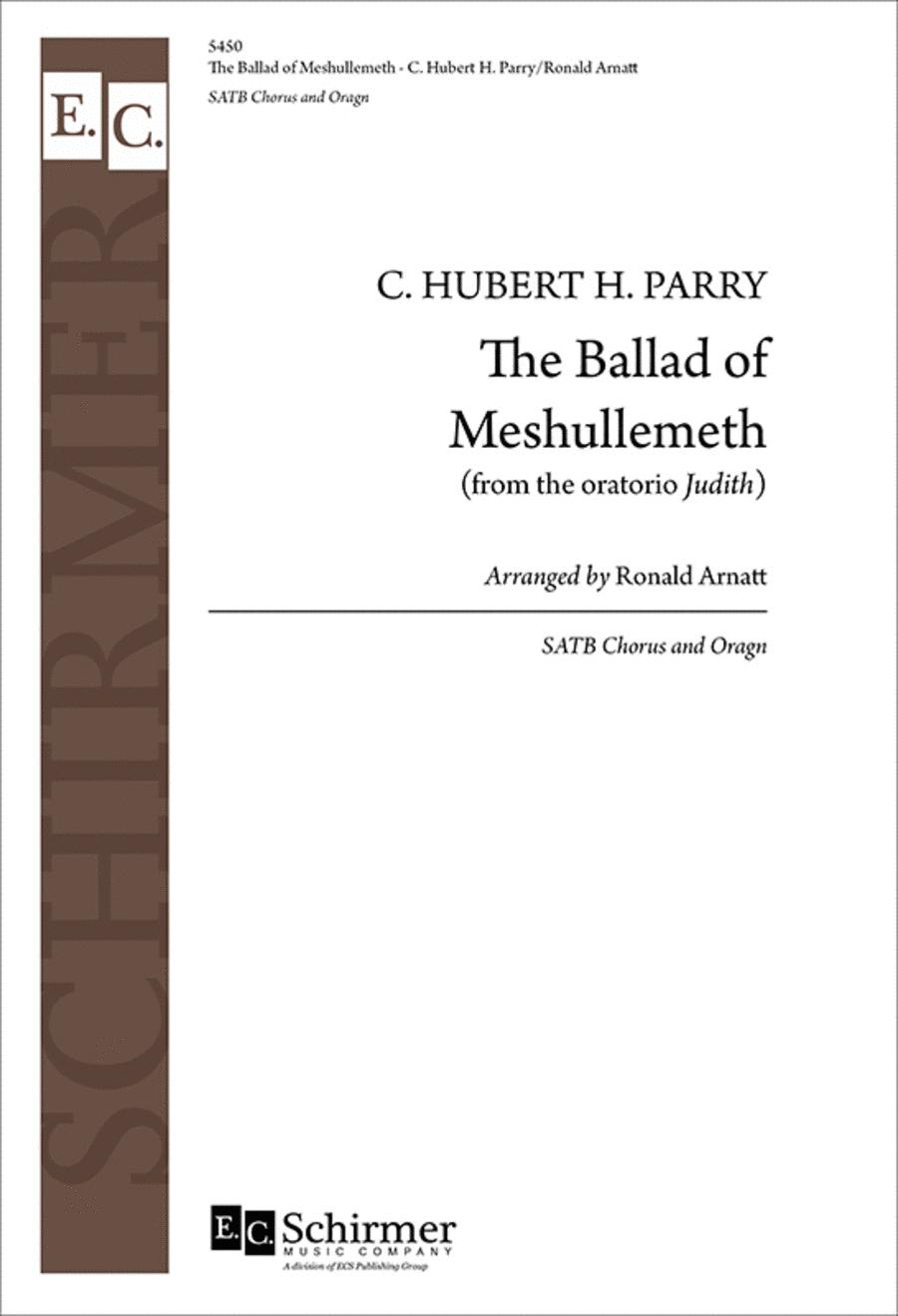 Judith: The Ballad of Meshullemeth