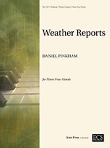 Weather Reports (First Duet, Book for Young Pianists)