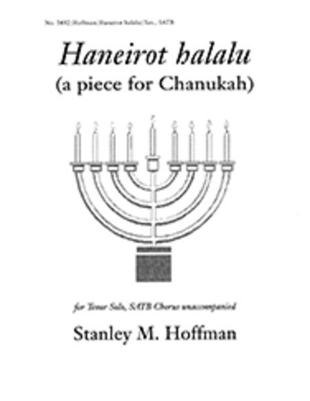 Haneirot halalu (a piece for Chanukah)