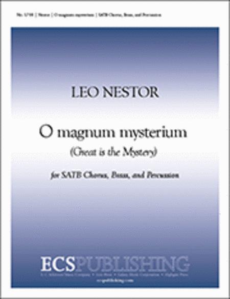 O Magnum Mysterium (Choral Score)