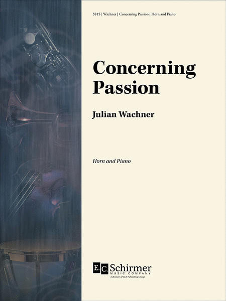 Concerning Passion (Score & Part)