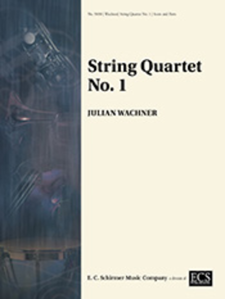 String Quartet No. 1 (Score & Parts)