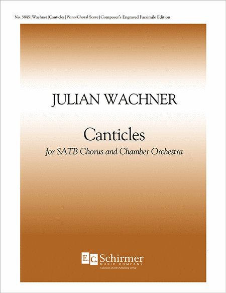 Canticles (Choral Score)