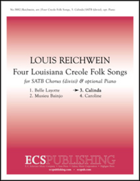 Four Louisiana Creole Folk Songs: No. 3. Calinda