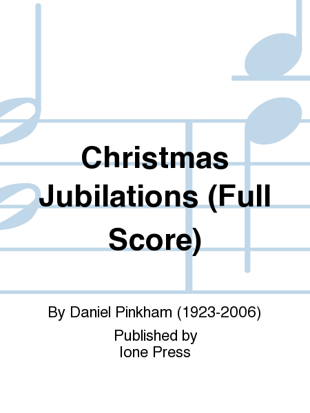 Christmas Jubilations (Full Score)