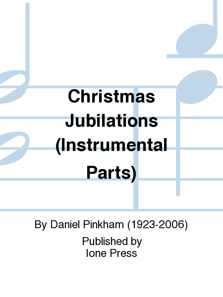 Christmas Jubilations (Instrumental Parts)