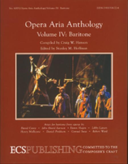 Opera Aria Anthology, Volume 4 (Baritone)