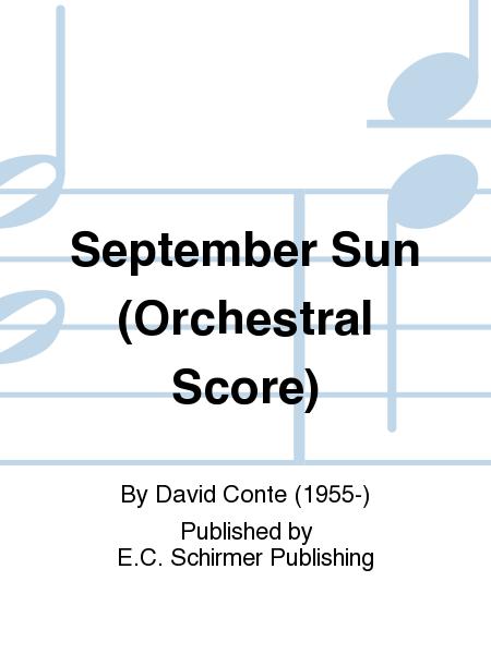 September Sun (Orchestral Score)