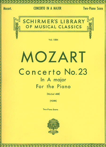 Piano Concerto No. 23 in A, K.488