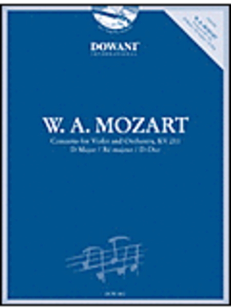 Mozart: Concerto for Violin and Orchestra in D Major, KV 211