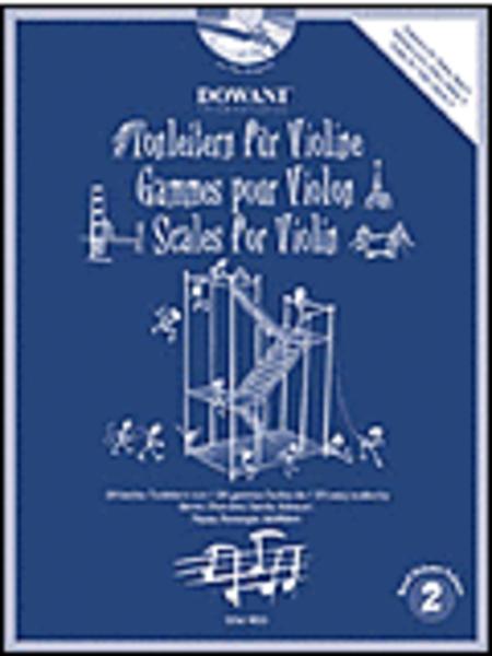 Scales for Violin, Volume 2