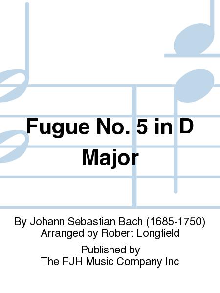 Fugue No. 5 in D Major