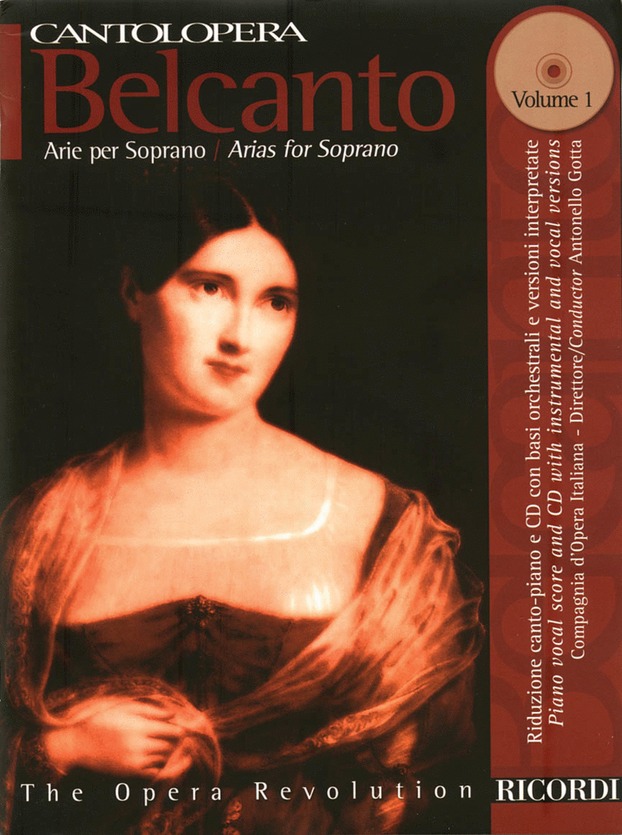 Cantolopera: Belcanto Arias for Soprano - Volume 1