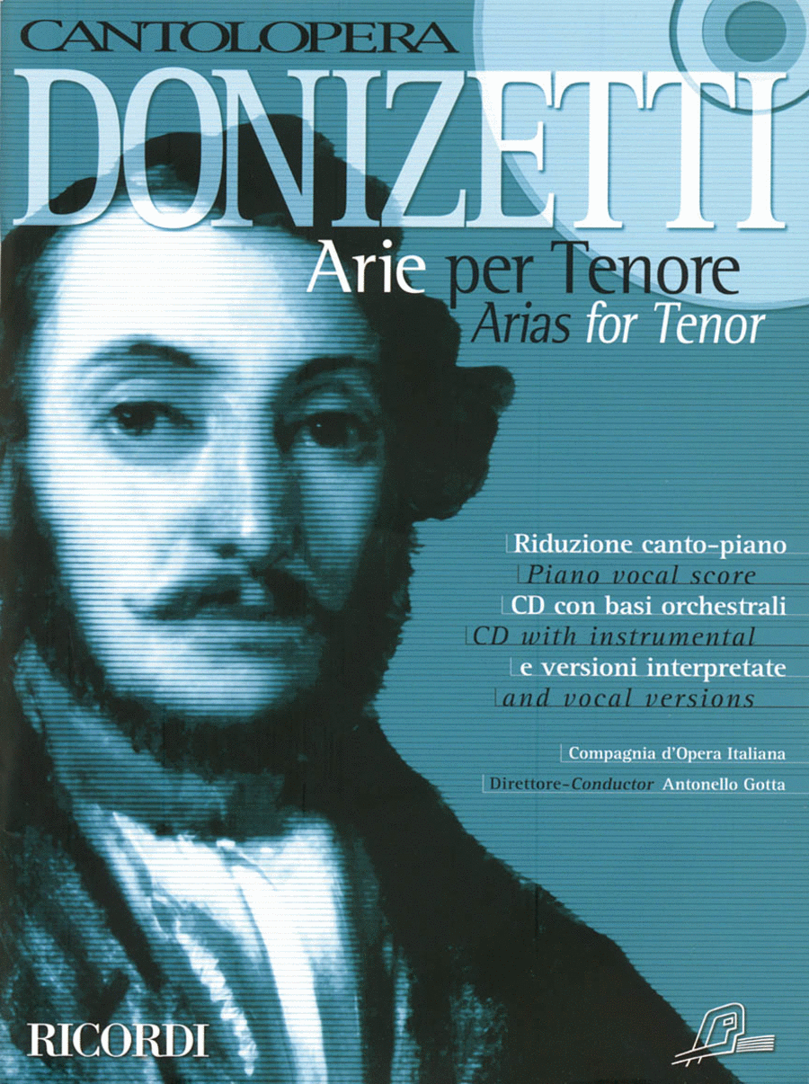 Cantolopera: Donizetti Arias for Tenor