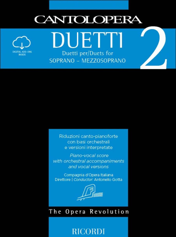 Cantolopera: Duets for Soprano/Mezzo-Soprano - Volume 2