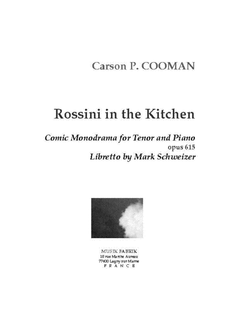 Rossini in the Kitchen