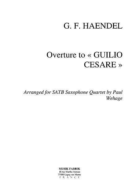 Ov Guilio Cesare