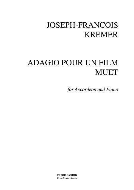 Adagio pour Un Film Muet