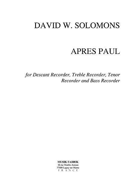 Apres Paul