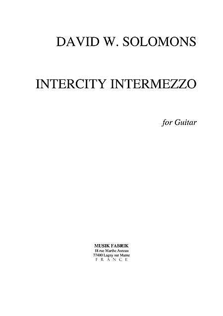 Intercity Intermezzo