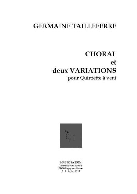 Choral et 2 Variations
