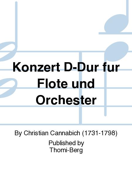 Konzert D-Dur fur Flote und Orchester