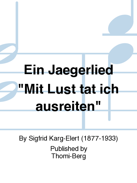 Ein Jaegerlied