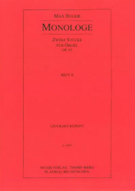 Monologe - Heft II