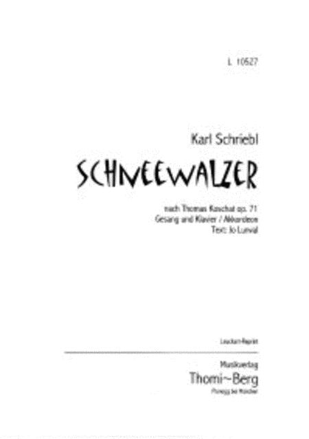 Schneewalzer - Original-Ausgabe