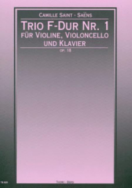 Trio Nr. 1 F-Dur op. 18