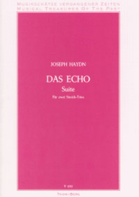 Das Echo, Suite