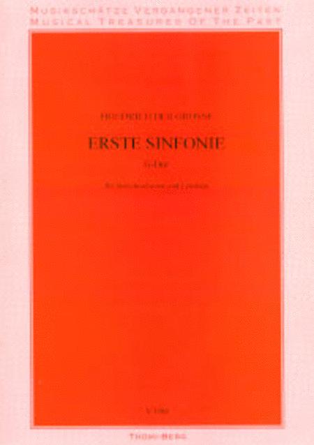1. Sinfonie fur Streichorchester und Cembalo