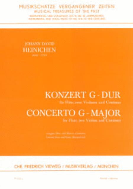 Konzert fur Flote, 2 Violinen und Continuo