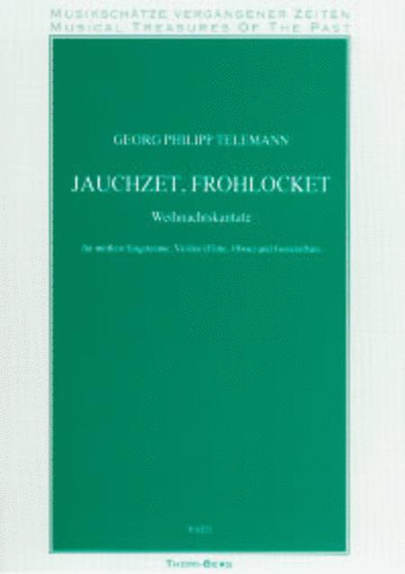 Jauchzet, frohlocket - Weihnachtskantate