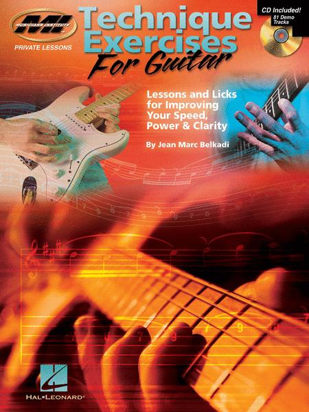 Technique Exercises for Guitar