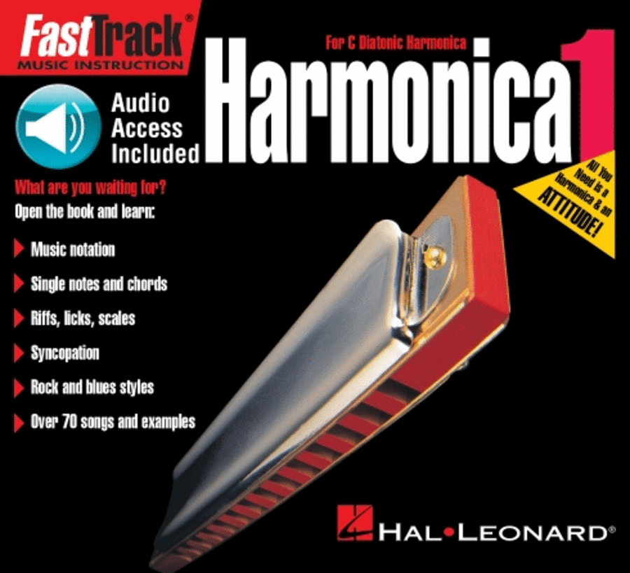 FastTrack Mini Harmonica Method Book 1