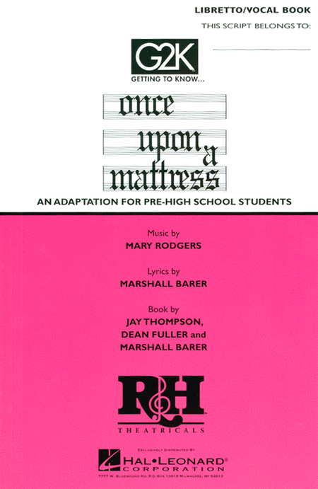Getting to Know ...Once Upon a Mattress